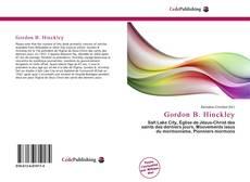 Gordon B. Hinckley kitap kapağı