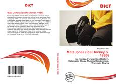 Buchcover von Matt Jones (Ice Hockey b. 1986)