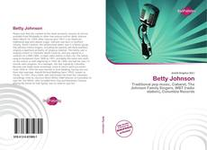Capa do livro de Betty Johnson