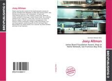 Bookcover of Joey Altman