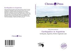 Bookcover of Earthquakes in Argentina