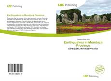Buchcover von Earthquakes in Mendoza Province