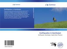 Bookcover of Earthquakes in Azerbaijan