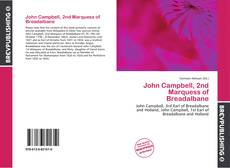 Обложка John Campbell, 2nd Marquess of Breadalbane