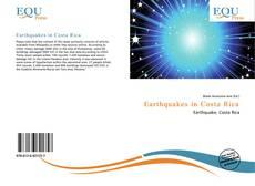 Earthquakes in Costa Rica kitap kapağı