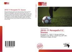 2010–11 Persepolis F.C. Season kitap kapağı
