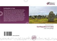 Bookcover of Earthquakes in Cuba