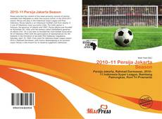 Bookcover of 2010–11 Persija Jakarta Season