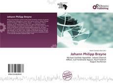 Buchcover von Johann Philipp Breyne