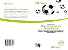 Bookcover of 2010–11 Estudiantes Tecos Season