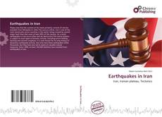 Bookcover of Earthquakes in Iran