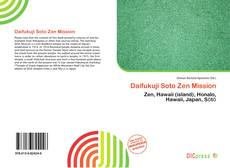 Capa do livro de Daifukuji Soto Zen Mission