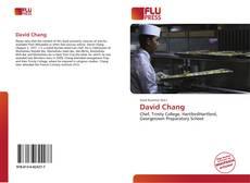 Bookcover of David Chang
