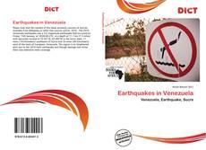 Buchcover von Earthquakes in Venezuela