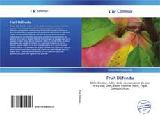 Bookcover of Fruit Défendu