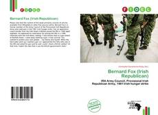 Portada del libro de Bernard Fox (Irish Republican)