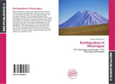 Bookcover of Earthquakes in Nicaragua
