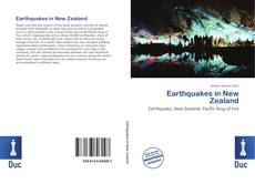 Обложка Earthquakes in New Zealand