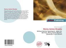 Bookcover of Henry James Brooke
