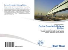 Bookcover of Burton Constable Railway Station