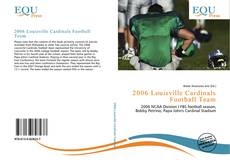 Capa do livro de 2006 Louisville Cardinals Football Team