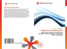 Couverture de Athanase d'Alexandrie