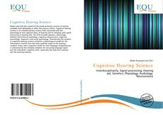 Bookcover of Cognitive Hearing Science