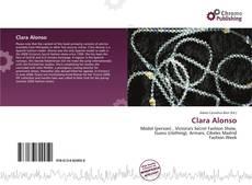 Capa do livro de Clara Alonso