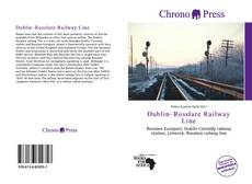 Portada del libro de Dublin–Rosslare Railway Line