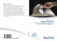 Copertina di Meyer Schapiro