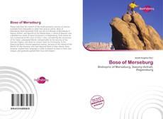 Borítókép a  Boso of Merseburg - hoz
