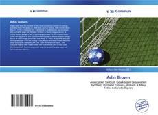 Capa do livro de Adin Brown