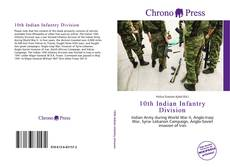 Bookcover of 10th Indian Infantry Division