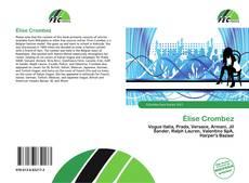 Buchcover von Élise Crombez