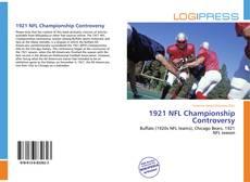 Capa do livro de 1921 NFL Championship Controversy