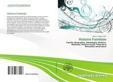 Обложка Histoire Familiale