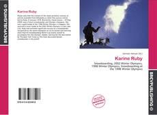 Couverture de Karine Ruby
