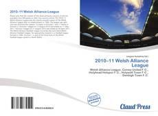 Capa do livro de 2010–11 Welsh Alliance League