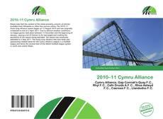 Capa do livro de 2010–11 Cymru Alliance