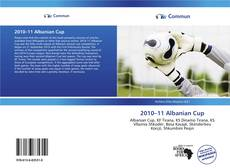 Bookcover of 2010–11 Albanian Cup