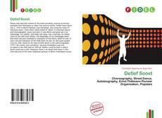 Buchcover von Detlef Soost