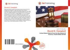Couverture de David G. Campbell