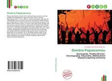 Portada del libro de Dimitris Papaioannou