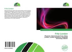 Bookcover of Fritz London