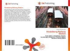 Heidelberg Railway Station kitap kapağı