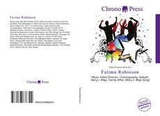 Capa do livro de Fatima Robinson