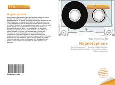 Buchcover von Magnétophone