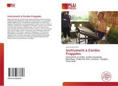 Portada del libro de Instrument à Cordes Frappées