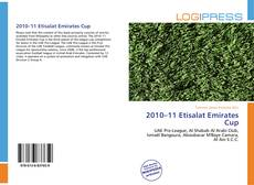 Bookcover of 2010–11 Etisalat Emirates Cup
