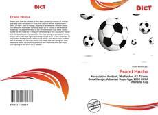 Bookcover of Erand Hoxha